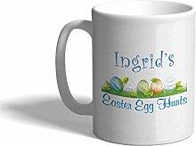 Ceramic Custom Coffee Mug 11 Ounces Easter Egg on