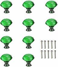 Ceramic Door knobs,Transparent Color Crystal