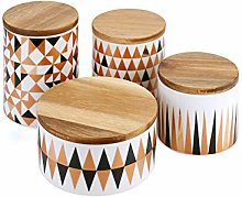 Ceramic Food Storage Jar with Airtight Lid,