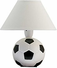 Ceramic Football Lamp - Bedroom Bed Side - Table
