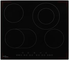 Ceramic Hob with 4 Burners Touch Control 6600 W -