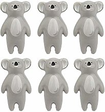 Ceramic Knobs, FBSHOP(TM) 6Pcs Ceramic Koala Knobs