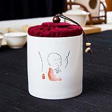 Ceramic Tea Jar Vintage Chinese Style Storage Jars
