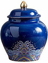 Ceramic Tea Jar Vintage Chinese Style Storage Jars