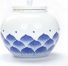 Ceramic Tea Jar with Sealed Lids Storage Jars Tea