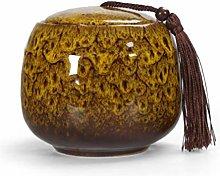 Ceramic Tea Storage Jars Caddy Vintage Chinese