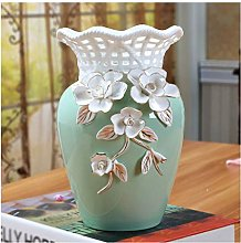Ceramic Three-dimensional Flower Ceramic Vase Home