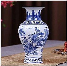 Ceramic Vase Ancient Blue And White Porcelain Rich