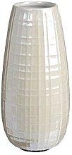 Ceramic Vase With Pearl Finish
