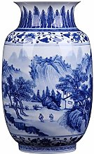 Ceramics Ceramic Vase Ornament Hand-painted Blue