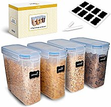 Cereal 4L Food Storage Containers for 100%