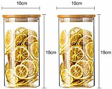 Cereal Container Glass Jars Clear Storage
