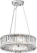 Cerium 6-Light Crystal Chandelier Canora Grey