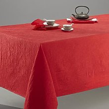 Ceryas Crinkled Tablecloth by La Redoute