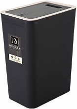 CESUO 12L Bathroom Trash Can Toilet Kitchen Waste