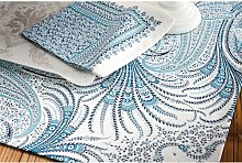 Ceylan Tablecloth Beauville Colour: Blue