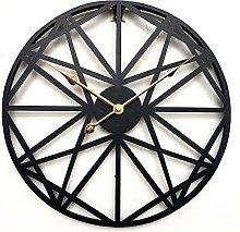 CEyyPD European-style iron wall clock mute living
