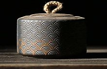 Cfbcc Japanese Ceramic Tea Caddies Vintage