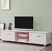CFDZ Modern TV Cabinet Free Standing Unit Matt