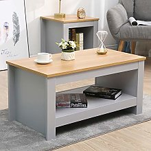 CFDZ Wooden Furniture Coffee Table Small Side