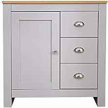 CFDZ Wooden Furniture Side Cupboard Multi Storage