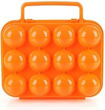 CFtrum Portable 12 Egg Slots Holder Shockproof