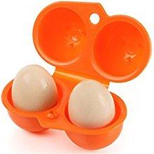CFtrum Portable 2 Egg Slots Holder Shockproof
