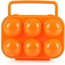 CFtrum Portable 6 Egg Slots Holder Shockproof