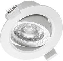 CGC 5W Round Tiltable Recessed LED Downlight White