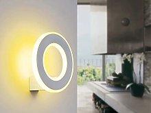 CGC 9W Indoor White Circular Round Halo LED Wall