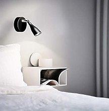 CGC Black LED Adjustable Wall Light 4000K Natural