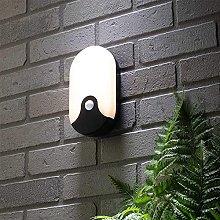 CGC Black Opal Oval Slim LED Bulkhead Wall Ceiling
