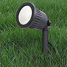 CGC Dark Grey LED Spike Light Spot Outdoor Garden
