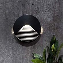 CGC Dark Grey Round Downlight Uplight LED Indoor