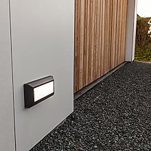 CGC Dark Grey Slim LED Wall Light Surface Mount