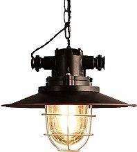 CGC Industrial Antique Bronze Copper Pendant Light
