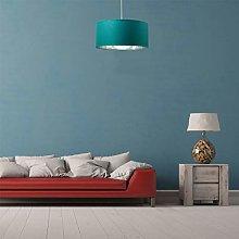 CGC Milo Large Teal Fabric Lamp Shade 45cm
