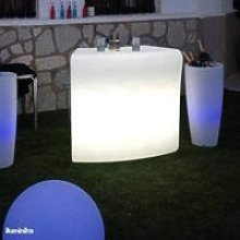 CGC Outdoor Garden Solar Illuminated Drinks Bar