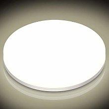 CGC Round 16W Brushed Aluminium Indoor Outdoor LED