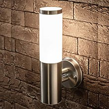 CGC Stainless Steel Silver Outdoor Wall Light