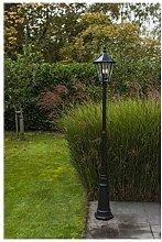 CGC Traditional LED Solar Post Bollard Lantern