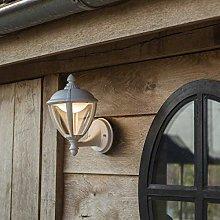 CGC White Coach Lantern Traditional Wall Light