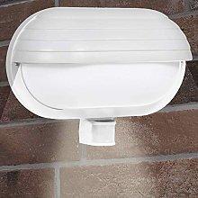 CGC White Oval Eyelid Bulkhead Wall Light PIR