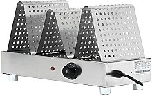 CGOLDENWALL Commercial Egg Waffle Maker Display