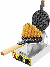 CGOLDENWALL Electric Bubble Waffle Iron Maker Hong