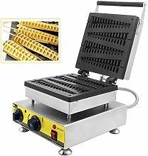 CGOLDENWALL Lolly Shape Waffle Iron Maker 4Pcs