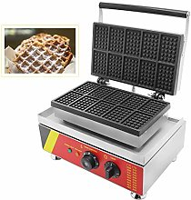 CGOLDENWALL NP-533 10pcs Commercial Waffle Maker