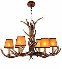 CGXYZ Antler Chandelier Rustic Hanging Lights