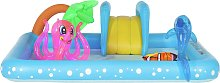 Chad Valley 8.5ft Aquarium Kids Paddling Pool -
