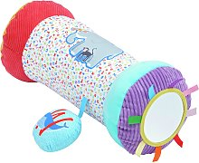 Chad Valley A-Z Animal Tummy Time Roller - Brights